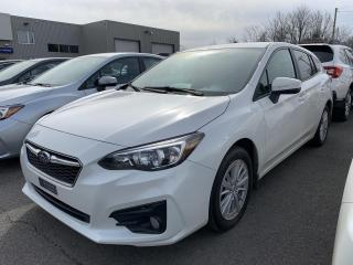 Used 2018 Subaru Impreza 2.0i Tourisme 5 portes BA for sale in Victoriaville, QC