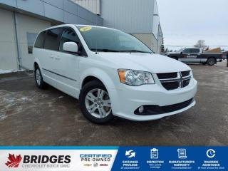Used 2015 Dodge Grand Caravan Crew**Heated Seats | Back-up Camera | Heated Steering** for sale in North Battleford, SK