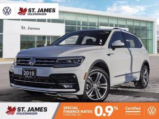 Used 2019 Volkswagen Tiguan Highline R-Line Package, Apple CarPlay, Heated Seats for sale in Winnipeg, MB