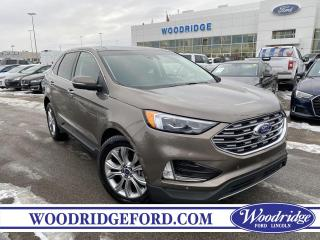 Used 2019 Ford Edge Titanium ***PRICE REDUCED*** 2.0L, NAVIGATION,  SUNROOF, LEATHER, AUTO PARK ASSIST, REMOTE START, NO ACCIDENT for sale in Calgary, AB