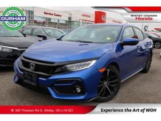Used 2020 Honda Civic Touring | 1.5l Turbo, Navigation, WirelessCharging for sale in Whitby, ON
