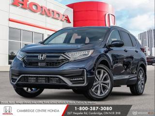 New 2021 Honda CR-V Touring GPS NAVIGATION | APPLE CARPLAY™ & ANDROID AUTO™ | REMOTE STARTER for sale in Cambridge, ON
