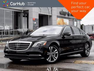 Used 2020 Mercedes-Benz S-Class S 560 4MATIC LWB Massage Seats Burmester for sale in Thornhill, ON
