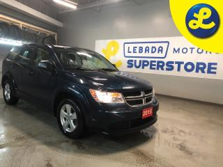 Used 2015 Dodge Journey SE * Cruise Control * Steering Wheel Controls * Push Button Start * 17 Alloy Rims * AM/FM/CD/USB/Aux * Dual Climate Control * Traction Control * Auto for sale in Cambridge, ON