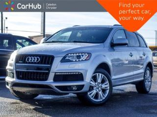 Used 2014 Audi Q7 3.0T Sport Quatro 7 Seater Panoramic Sunroof Backup Camera Bluetooth Heated Seats 19