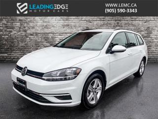 Used 2019 Volkswagen Golf Sportwagen 1.8 TSI Comfortline AWD, Drive Assist Package, Apple Car Play and Android Auto, Heated Seats for sale in King, ON