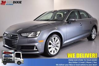 Used 2019 Audi A4 Sedan Komfort for sale in Mississauga, ON