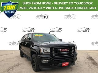 Used 2017 GMC Sierra 1500 SLT ALL TERRAIN- ALL DAY! for sale in Grimsby, ON