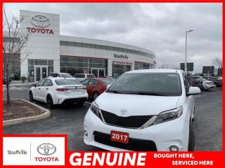 Used 2017 Toyota Sienna SE 8 Passenger SE 8-PASSENGER - BACKUP CAMERA - HEATED FRONT SEATS for sale in Stouffville, ON