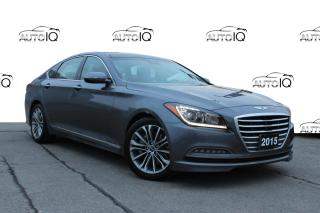 Used 2015 Hyundai Genesis 3.8 Luxury NAVIGATION ! SUNROOF! ALL WHEEL DRIVE! CERTIFIED for sale in Hamilton, ON