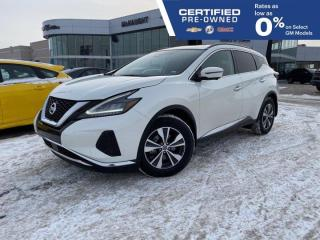 Used 2020 Nissan Murano SV AWD | Heated Steering Wheel | Touch Navigation for sale in Winnipeg, MB