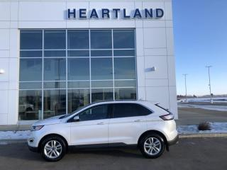 Used 2017 Ford Edge SEL AWD | LEATHER | HEATED SEATS | PANORAMIC SUNROOF | REMOTE START-USED EDMONTON FORD DEALER for sale in Fort Saskatchewan, AB