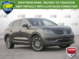 Used 2018 Lincoln MKX Reserve|Navigation|Vista Sunroof|20 Inch Rims for sale in Oakville, ON