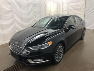 Used 2017 Ford Fusion SE-LEATHER-NAVIGATION-SUNROOF-REAR CAMERA for sale in Tilbury, ON