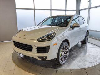 Used 2017 Porsche Cayenne Hybrid Platinum Edition   CPO   Ext. Warranty   Premium PKG for sale in Edmonton, AB