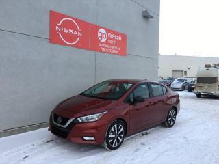 New 2021 Nissan Versa SR/DRIVERS ASSIST/LED HEADLIGHTS/REMOTE START/SPORTS SEAT for sale in Edmonton, AB