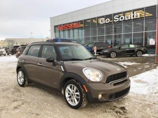 Used 2011 MINI Cooper Countryman S, AWD, SUNROOF, AUTO for sale in Edmonton, AB