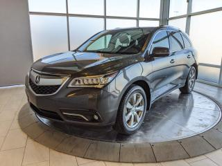 Used 2016 Acura MDX Elite - One Owner - Accident Free! for sale in Edmonton, AB