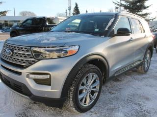 New 2021 Ford Explorer Limited | 4WD | Leather | Twin Panel Moonroof | Trailer Tow Pkg | Remote Start for sale in Edmonton, AB