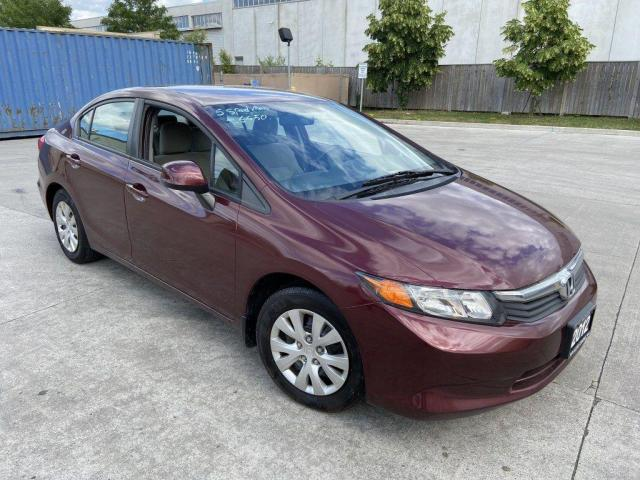 2012 Honda Civic 4 door, Gas saver , 3 Years Warranty Available