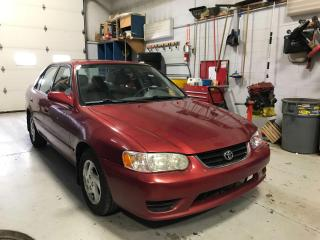 Used 2002 Toyota Corolla CE for sale in Newmarket, ON