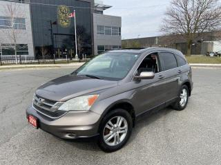 Used 2011 Honda CR-V EX-L, AWD, Leather, roof, 3/Y Warranty Availabl for sale in Toronto, ON