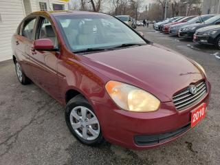 Used 2010 Hyundai Accent GL/POWER GROUP/AUX/AUTO/FUEL EFFICIENT for sale in Scarborough, ON