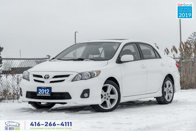 2012 Toyota Corolla XRS|Auto|Leather|Roof|