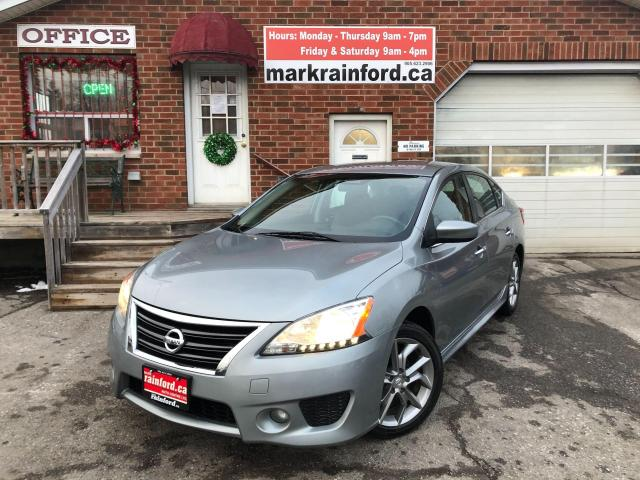 2013 Nissan Sentra SR Bluetooth Proxy Key Alloys