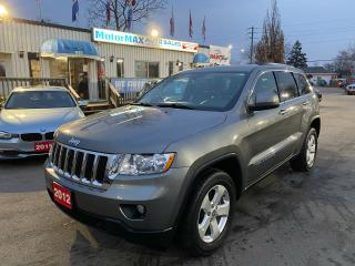 Used 2012 Jeep Grand Cherokee Laredo-4X4-ACCIDENT FREE for sale in Stoney Creek, ON