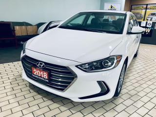 Used 2018 Hyundai Elantra Limited I LEATHER I NAVI ISUNROOF I APPLE ANDROID for sale in Brampton, ON