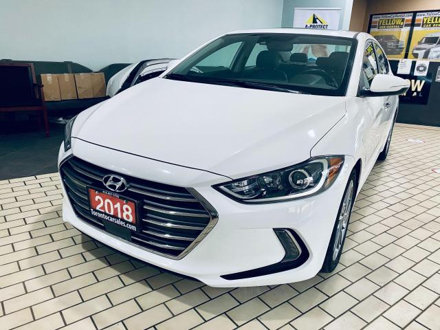 2018 Hyundai Elantra Limited I LEATHER I NAVI ISUNROOF I APPLE ANDROID