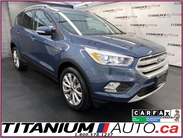 2018 Ford Escape Titanium+4X4+GPS+Pano Roof+Leather+Self Park+Camer