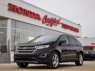 Used 2017 Ford Edge Titanium AWD | LEATHER | NAVIGATION for sale in Winnipeg, MB
