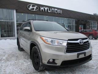 Used 2016 Toyota Highlander XLE for sale in Ottawa, ON