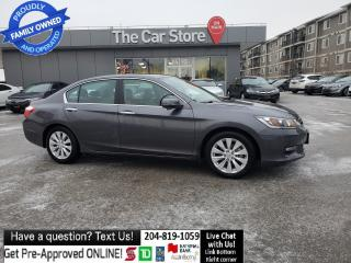 Used 2015 Honda Accord Sedan EX-L Sunroof Leather Htd Seat Rear CAm CLEAN TITLE for sale in Winnipeg, MB