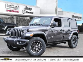 New 2021 Jeep Wrangler 80TH ANNIVERSARY | DUAL TOP | TOW PKG for sale in Simcoe, ON