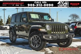 New 2021 Jeep Wrangler Sport 80th Ann | Dual Tops | Safety Grp | for sale in Hamilton, ON