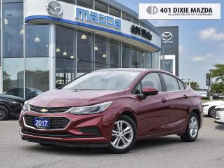 Used 2017 Chevrolet Cruze LT |NO ACCIDENTS|HEATED SEATS|FINANCING AVAILABLE for sale in Mississauga, ON