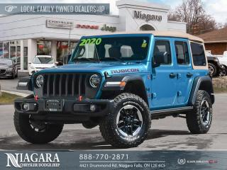 Used 2020 Jeep Wrangler Unl Rubicon | RARE COLOUR COMBO for sale in Niagara Falls, ON