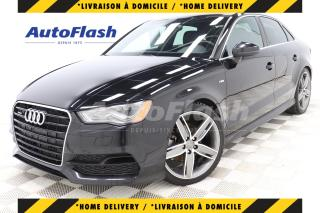 Used 2015 Audi A3 2.0T PROGRESSIV QUATTRO *S-LINE *GPS for sale in Saint-Hubert, QC