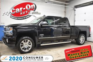 Used 2017 Chevrolet Silverado 1500 HIGH COUNTRY | BOSE AUDIO | NAVIGATION | HEATED/CO for sale in Ottawa, ON