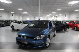 Used 2015 Volkswagen Golf TSI I LEATHER I SUNROOF I REAR CAM I CARPLAY I HEATED SEATS for sale in Mississauga, ON