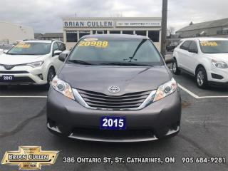 Used 2015 Toyota Sienna LE  - Certified for sale in St Catharines, ON