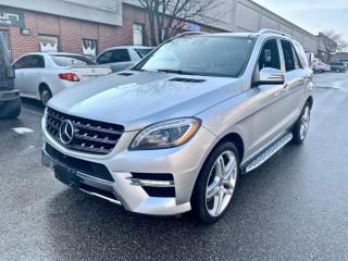 Used 2014 Mercedes-Benz ML-Class 4MATIC 4dr ML550, DISTRONIC+, NAV, FULL OPTIONS, NO ACCIDENT for sale in North York, ON