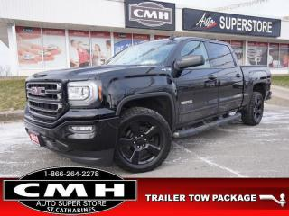 Used 2017 GMC Sierra 1500 SLE  V8 4X4 CAM P/SEATS HTD-SEATS TOW 20-AL for sale in St. Catharines, ON