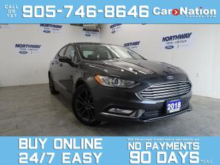 Used 2018 Ford Fusion SE APPEARANCE PKG | LEATHERETTE | UPGRADED RIMS for sale in Brantford, ON