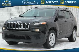 Used 2016 Jeep Cherokee 4 RM, 4 portes, Sport for sale in Ste-Rose, QC