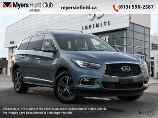 Used 2017 Infiniti QX60 Premium  - Certified - Leather Seats for sale in Ottawa, ON