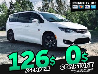 Used 2020 Chrysler Pacifica Hybrid Pré-réservation Demo - Red S 2RM for sale in Ste-Marie, QC